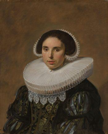 Portret van een vrouw, Frans Hals, ca. 1635
