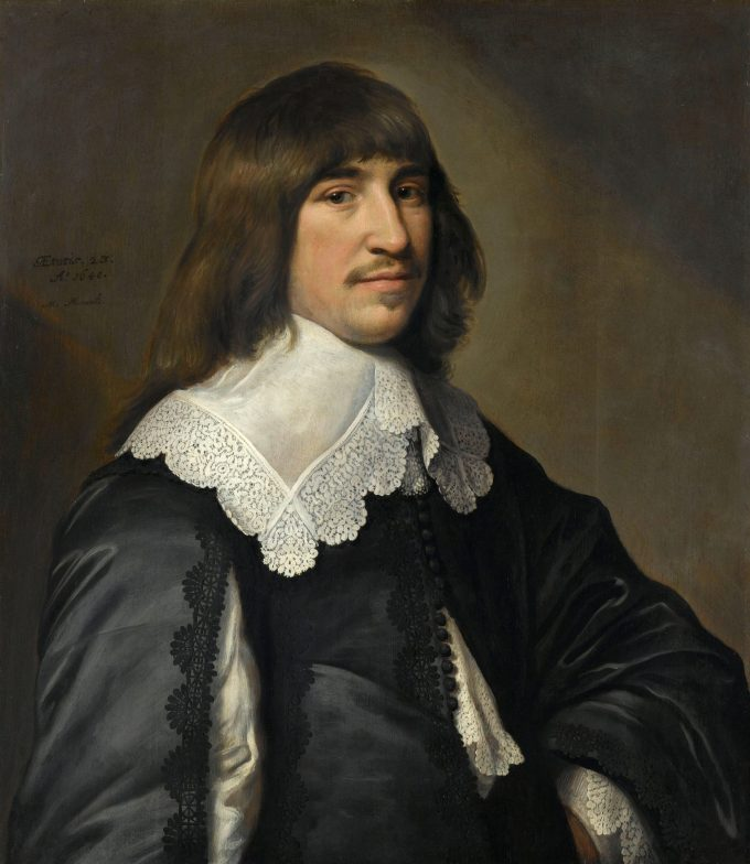 Portret van Henrick Hooft, Michiel Jansz. van Mierevelt, 1640