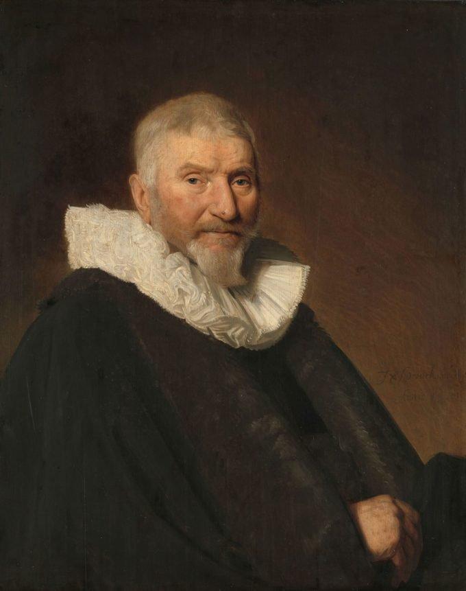 Johan van Schoterbosch (ca. 1564-1654). Raad en schepen van Haarlem, Johannes Cornelisz. Verspronck, 1647