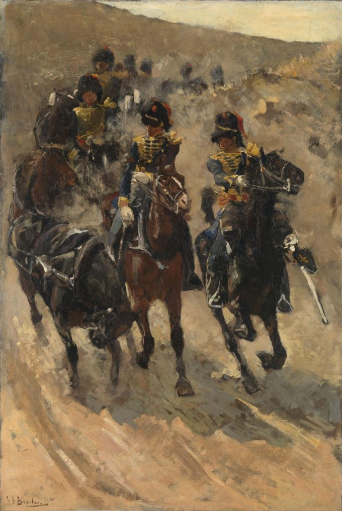 De Gele Rijders, George Hendrik Breitner, 1885 - 1886