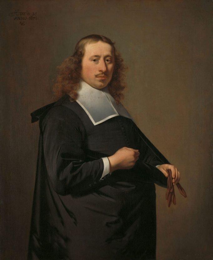 Willem Jacobsz Baert (1636-84). Burgemeester van Alkmaar en Amsterdam, Caesar Boëtius van Everdingen, 1671
