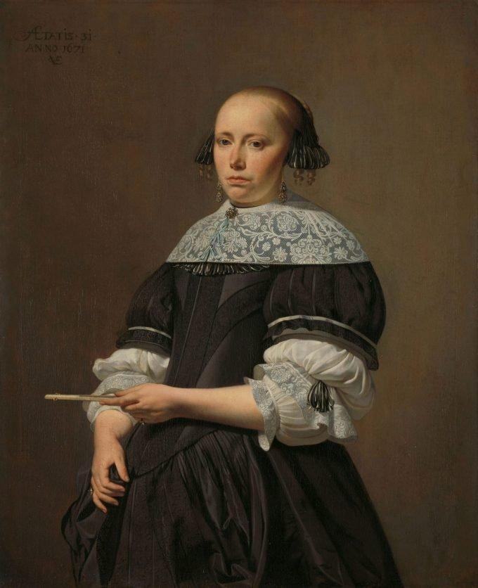 Elisabeth van Kessel (1640-1717). Echtgenote van Willem Jacobsz Baert, Caesar Boëtius van Everdingen, 1671