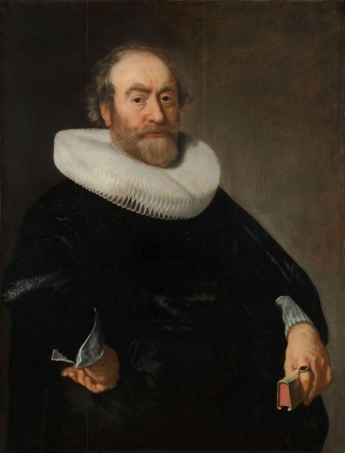 Portret van Andries Bicker, Bartholomeus van der Helst, 1642