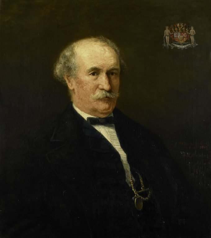 Menno David Graaf van Limburg Stirum (1807-91). Adjudant des konings, luitenant-generaal, Hendrik Willem Mesdag, 1874
