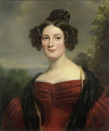 Catharina Annette Fraser (1815-92), Jan Adam Kruseman, 1834