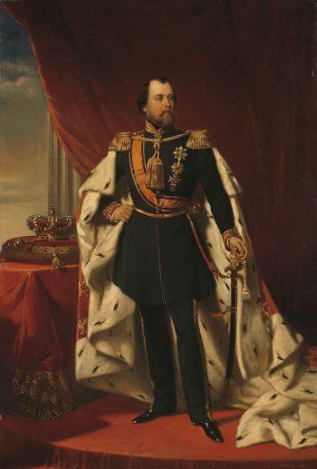 Willem III (1817-90), koning der Nederlanden, Nicolaas Pieneman, 1856