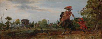 Zomer, Adriaen Pieterszoon van de Venne, 1625