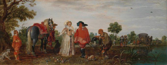 Lente, Adriaen Pieterszoon van de Venne, 1625