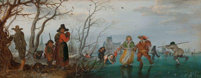 Winter, Adriaen Pieterszoon van de Venne, 1625