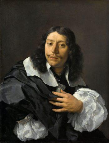 Zelfportret, Karel du Jardin, 1662