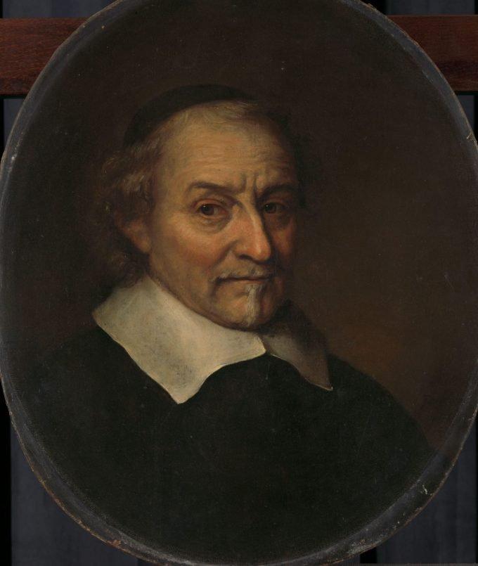 Joost van den Vondel (1587-1679). Dichter, Philips Koninck, 1665