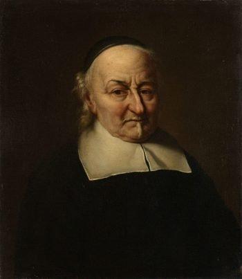 Joost van den Vondel (1587-1679). Dichter, Philips Koninck, 1674