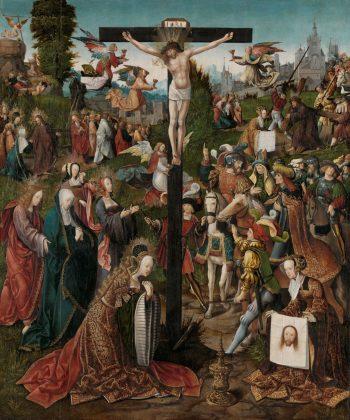 De kruisiging, Jacob Cornelisz. van Oostsanen, ca. 1507 – ca. 1510