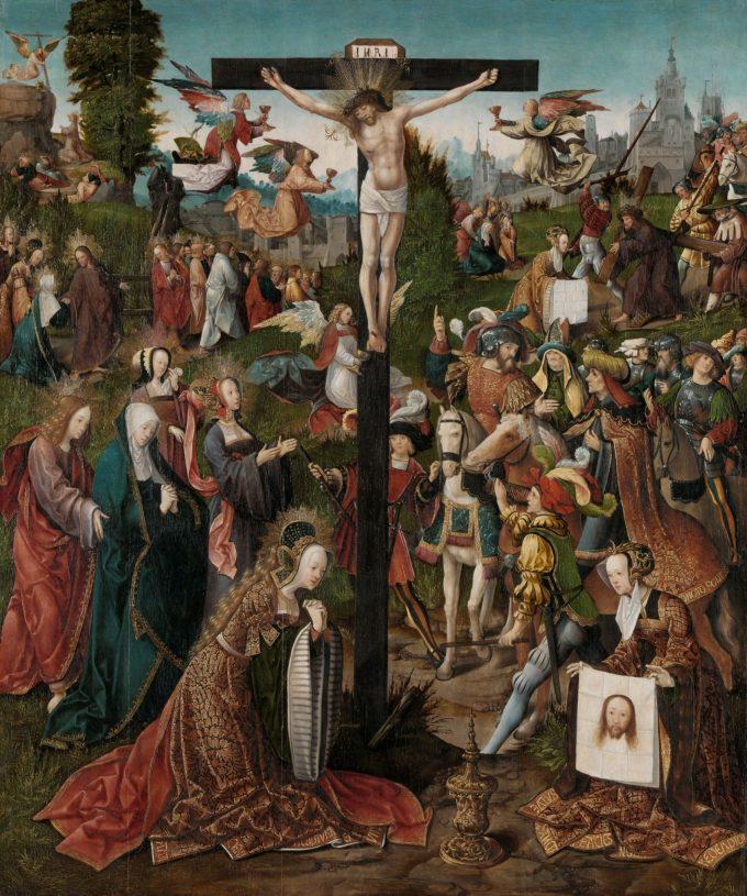 De kruisiging, Jacob Cornelisz. van Oostsanen, ca. 1507 - ca. 1510
