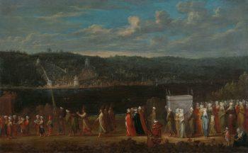 Turkse bruiloft, Jean Baptiste Vanmour, ca. 1720 – ca. 1737