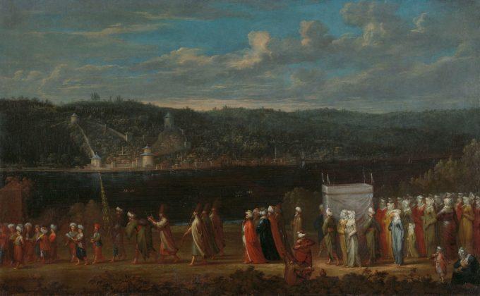 Turkse bruiloft, Jean Baptiste Vanmour, ca. 1720 - ca. 1737