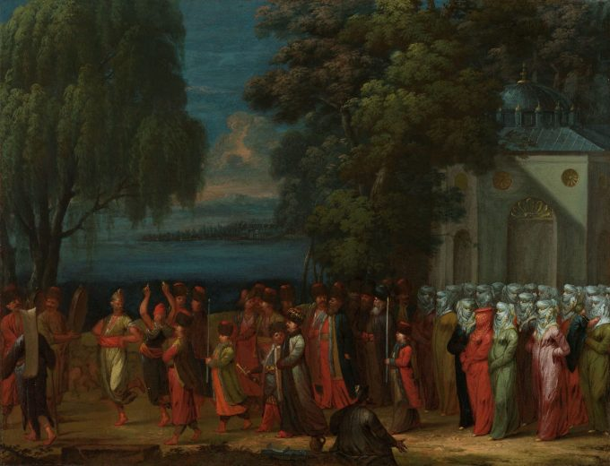Armeense bruiloft, Jean Baptiste Vanmour, 1720 - 1737