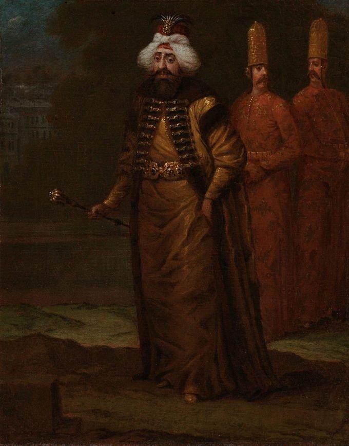 Sultan Ahmed III, Jean Baptiste Vanmour, ca. 1727 - ca. 1730