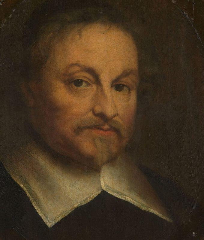 Joost van den Vondel (1587-1679). Dichter, Govert Flinck, 1653