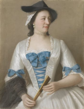 Jeanne-Elisabeth Sellon, Lady Tyrrel, Jean-Etienne Liotard, ca. 1746