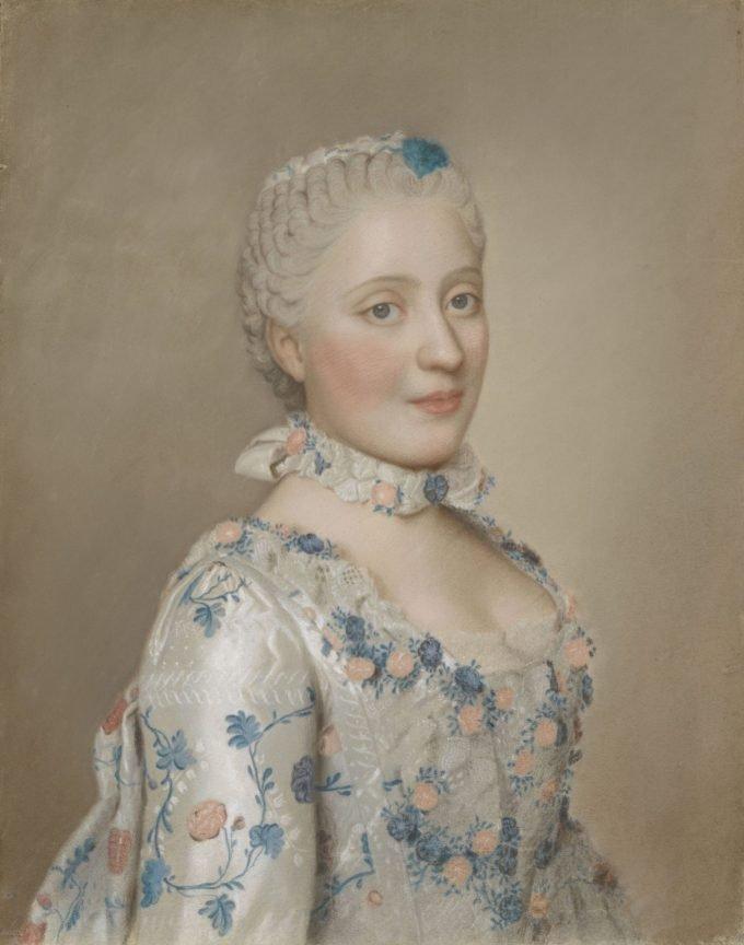 Maria Josepha van Saksen, Dauphine van Frankrijk, Jean-Etienne Liotard, 1749