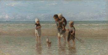 Kinderen der zee, Jozef Israëls, 1872