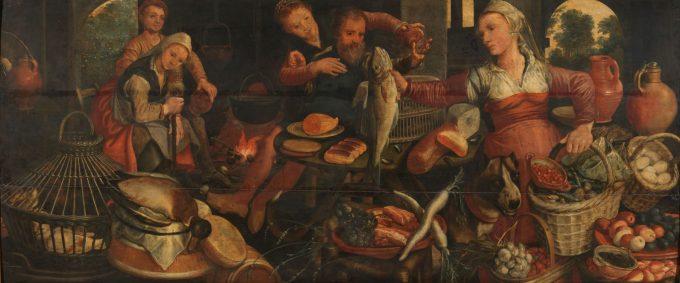 Keukenstuk, Pieter Aertsen, 1560 - 1565