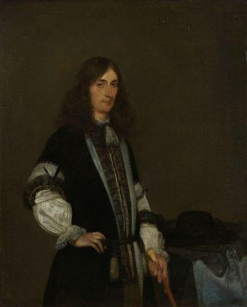 François de Vicq (1646-1707), sedert 1697 herhaaldelijk burgemeester van Amsterdam, Gerard ter Borch (II), 1670