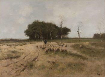 Heide bij Laren, Anton Mauve, 1887