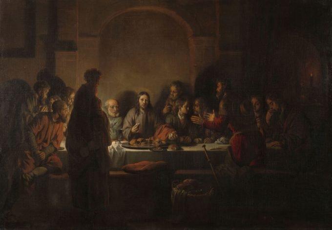 Het laatste avondmaal, Gerbrand van den Eeckhout, 1664