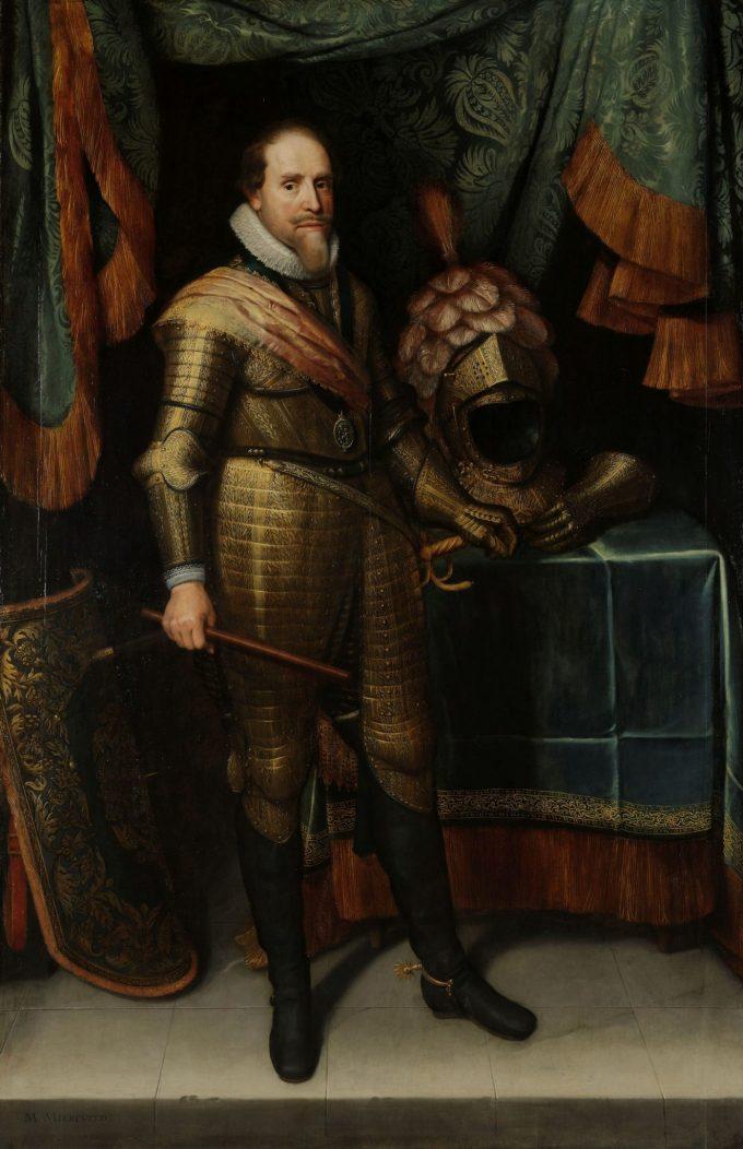 Maurits, prins van Oranje (1567-1625), Michiel Jansz. van Mierevelt, ca. 1613 - ca. 1620