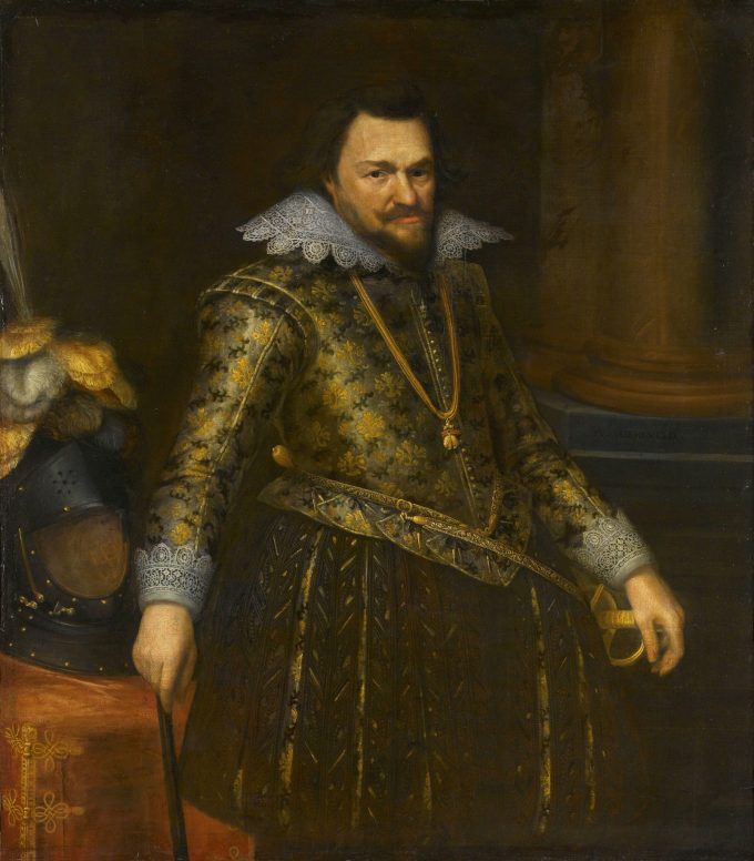 Portret van Philips Willem (1554-1618), prins van Oranje, Michiel Jansz. van Mierevelt, ca. 1608
