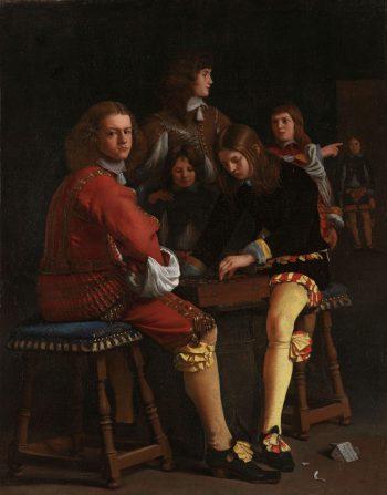 Damspelers, Michael Sweerts, 1652