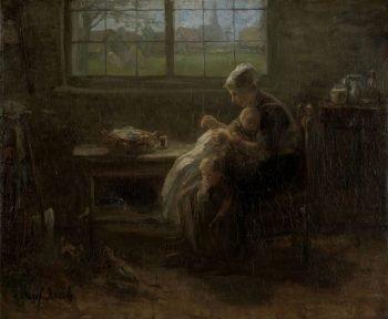 'Moederweelde', Jozef Israëls, 1890