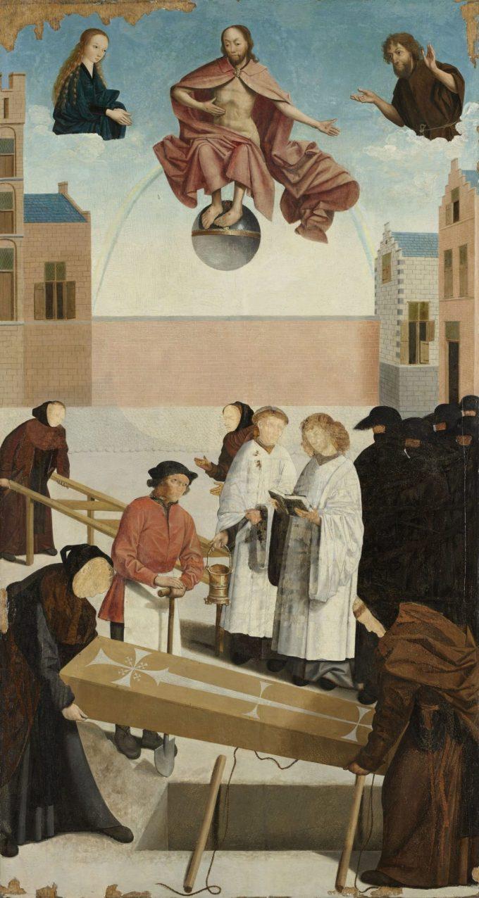 De zeven werken van barmhartigheid, Meester van Alkmaar, 1504De zeven werken van barmhartigheid, Meester van Alkmaar, 1504