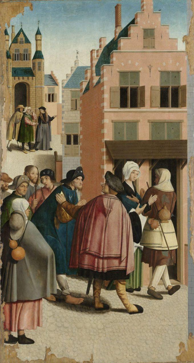 De zeven werken van barmhartigheid, Meester van Alkmaar, 1504