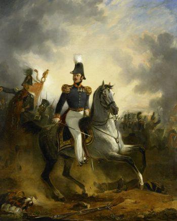 De slag bij Houthalen, Nicolaas Pieneman, 1834