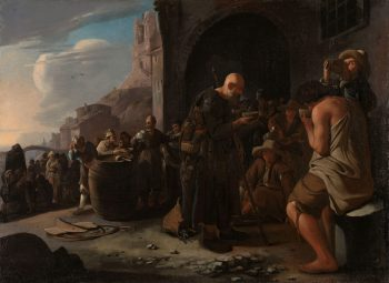 De dorstigen laven, Michael Sweerts, ca. 1646 – ca. 1649