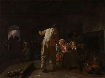 De zieken bezoeken, Michael Sweerts, ca. 1646 – ca. 1649