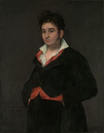 Portret van Don Ramón Satué, Francisco de Goya, 1823