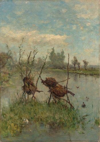 Eendennesten, Paul Joseph Constantin Gabriël, ca. 1890 – ca. 1900