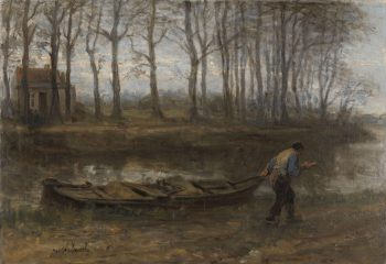 De zandschipper, Jozef Israëls, 1887