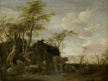 Herdershut, Paulus Potter, 1645