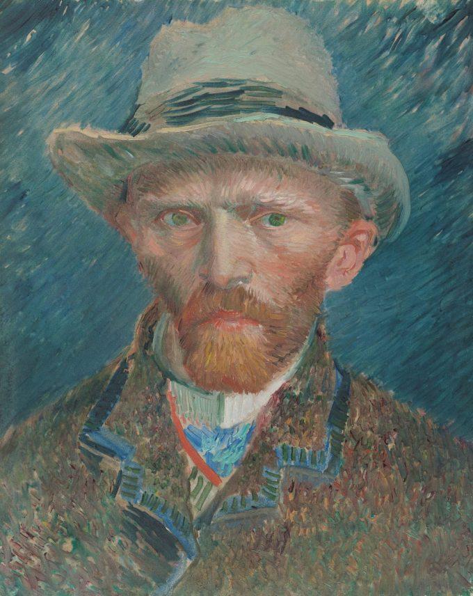 Zelfportret, Vincent van Gogh, 1887
