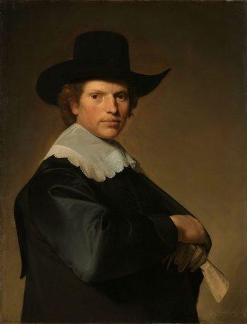 Portret van een man, Johannes Cornelisz. Verspronck, 1646