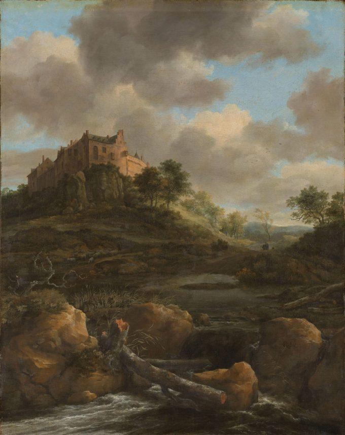 Kasteel Bentheim, Jacob Isaacksz. van Ruisdael, 1650 - 1682
