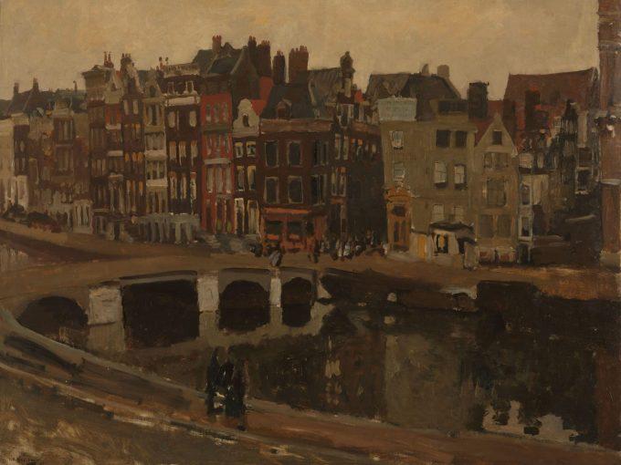 Het Rokin in Amsterdam, George Hendrik Breitner, 1897