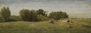 Landschap bij Abcoude, Paul Joseph Constantin Gabriël, 1860 – 1870