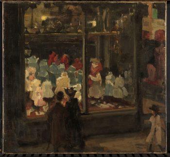 Etalage, Isaac Israels, 1894