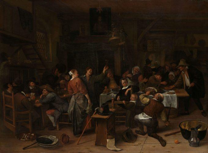 Prinsjesdag, Jan Havicksz. Steen, 1660 - 1679